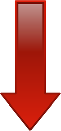 Arrow_glossy_down_red