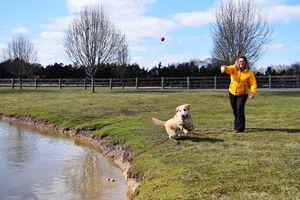 Janel and Dutch pond trip